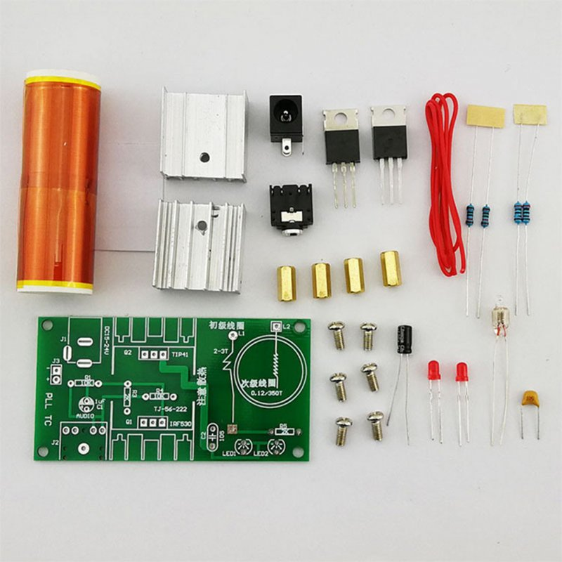 Tesla Coil Set DIY Electronic Component Parts