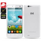 ThL 4400 Android 4 4 Phone features a 5 Inch 1280x720 Corning Gorilla Glass IPS Screen  Quad Core CPU  as well as 5MP and 8MP Cameras