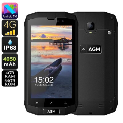 AGM A1Q Rugged Smartphone