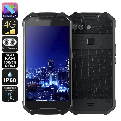 AGM X2 Rugged Smartphone (128GB Leather)