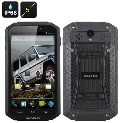 AORO I5 Rugged Smartphone (Black)
