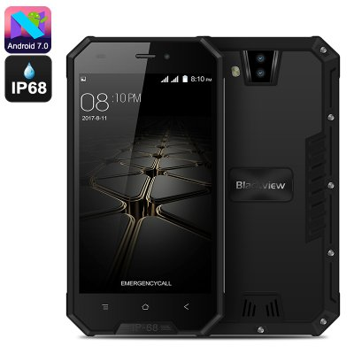 Blackview BV4000 Rugged Phone (Black)
