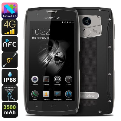 Blackview BV7000 Rugged Phone (Gray)