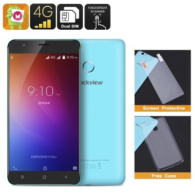 Blackview E7 Smartphone (Blue)