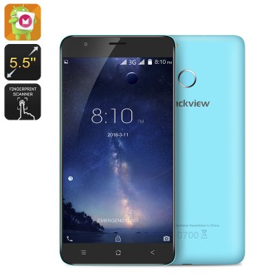 Blackview E7S Smartphone (Blue)