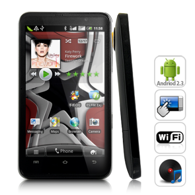CyberStar 4.3 Inch 3G Android 2.3 Phone