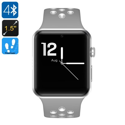 DM09 Plus Smart Watch Phone (Gray + White)