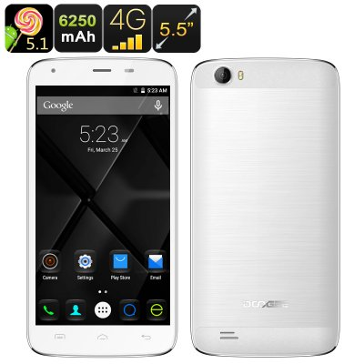 DOOGEE T6 Android Smartphone (White)
