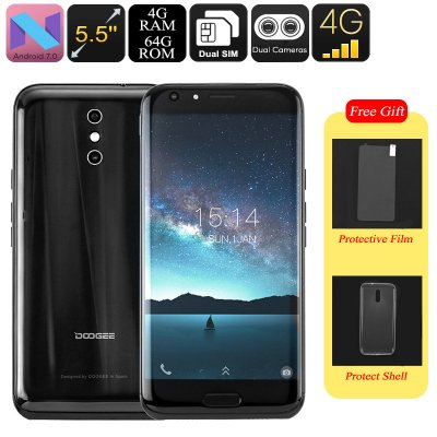 Doogee BL5000 Android Smartphone (Black)