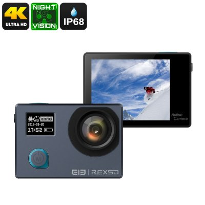 Elephone REXSO Explorer 4K Camera (Grey)