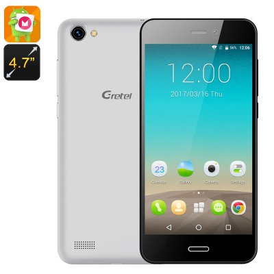 Gretel A7 Android Phone (Silver)