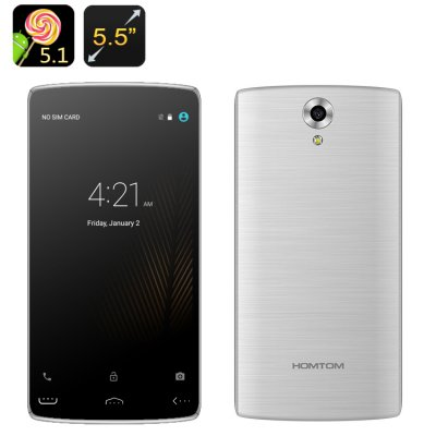 HOMTOM HT7 Pro Smartphone (Silver)