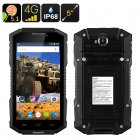 Huadoo HG06 Rugged Smartphone (Black)