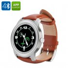 The IMACWEAR Q1 sports smartwatch comes with a 1 3 inch round display  Bluetooth 4 0  heart rate monitor  pedometer and more
