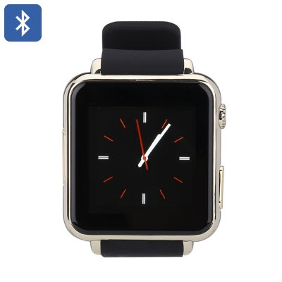 Iradish Y6 Bluetooth Smart Watch (Gold)
