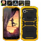 MFOX A10 Pro Military Standard Phone (Yellow)