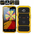 MFOX A7 Pro Rugged Smartphone (Yellow)