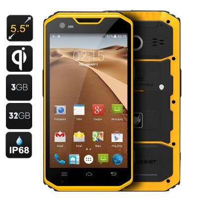 MFOX A7W Rugged Android Smartphone