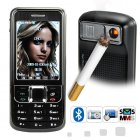 The Machismo   The world s hottest cigarette lighter mobile phone with triband GSM functionality  dual SIM slots  and a 2 5 inch touchscreen  Free 2GB TF MicroS