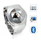 The Megatron   the perfect combination of fashionable cellphone watch with a feature packed media player