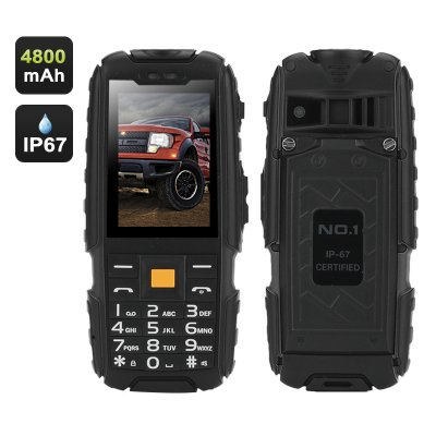 NO.1 A9 GSM Phone (Black)