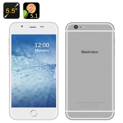 Blackview Android 5.1 Smartphone (Silver)