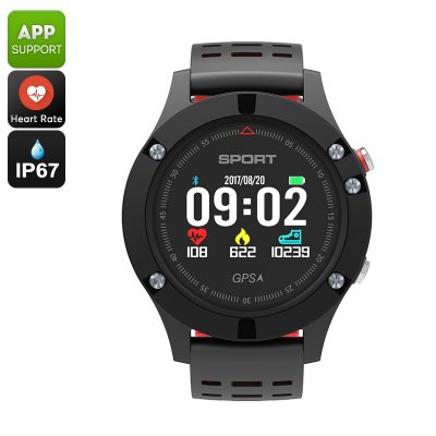 No.1 F5 Bluetooth Watch (Red)