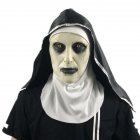 The Nun Mask Halloween Party The Conjuring Valak Scary Latex Masks with Headscarf nun mask