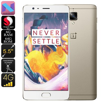 OnePlus 3T Smartphone 64GB (Gold)