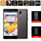 The OnePlus 3T Gunmetal Smartphone is an Android phone that features a Quad Core CPU  6GB RAM  Dual IMEI  128GB ROM  and a stunning 5 5 Inch FHD display