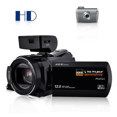 10MP Projector Camcorder