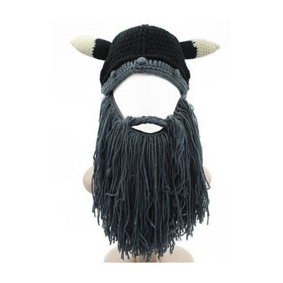3167990dc8e Wholesale Original Barbarian Pillager Knit Black Beard Hat From China