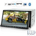 The Road Tiger T2  a powerful 2 DIN Car DVD Player with an amazing 7 inch high definition touchscreen and multimedia mastery like DVB T  GPS and Bluetooth for a