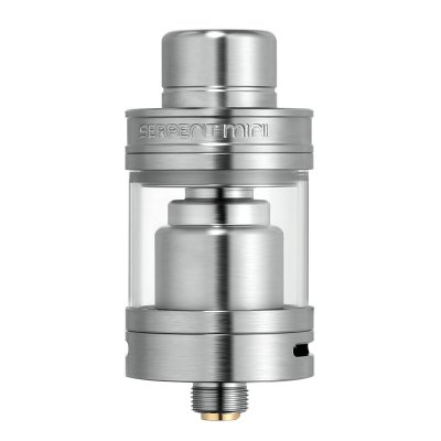 Serpent Mini 22mm Diameter RTA (Silver)