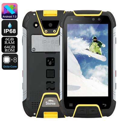 Snopow M10 Rugged Phone (Yellow)