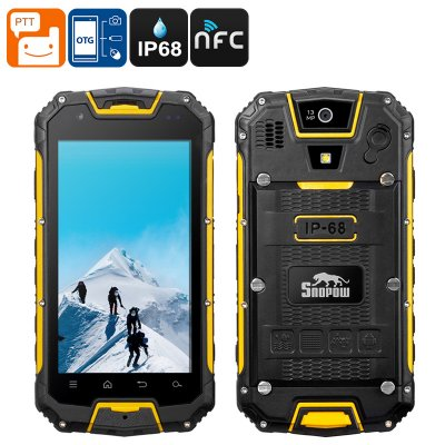 Snopow M5 Rugged Phone (Yellow)