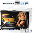 The Street King X2 is a 2 DIN super car DVD player with all the features you d expect like 7inch high def touchscreen  GPS  digital TV  Awesome two DIN car DVD