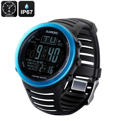 Sunroad FR720 5ATM Fishing Watch