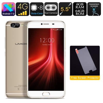 UMIDIGI Z1 Android Phone (Gold)