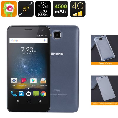 Android Phone Uhans H5000 (Black)