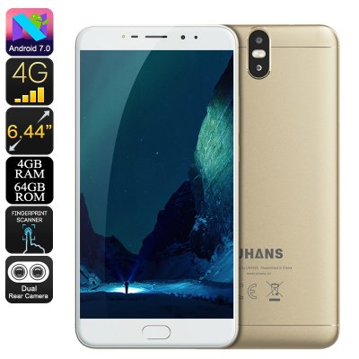 Uhans Max 2 Android Phone (Gold)