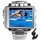 Steel MP4 Player Watch - 8GB