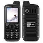 VK World Stone V3 Plus Elderly Phone (Black)