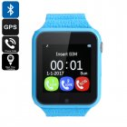 VK7 Kids GPS Smart Watch (Blue)
