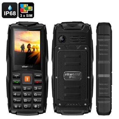 Vkworld New Stone V3 Gsm Cell Phone Black