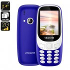 VKWorld Z3310 Cell Phone (Blue)