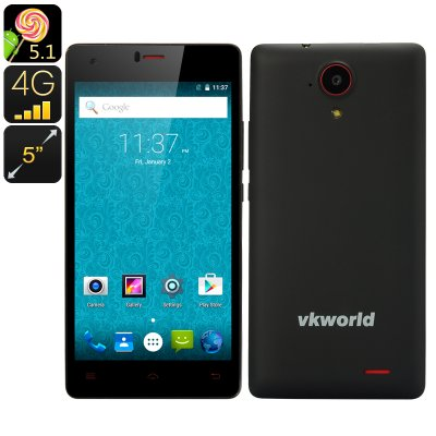 VKWorld 6735x Smartphone (Black)