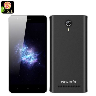 VKWorld F1 Android 5.1 Smartphone (Black)