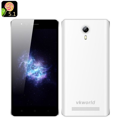VKWorld F1 Android 5.1 Smartphone (White)