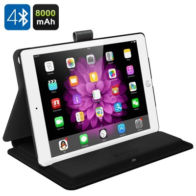 WYHOO 3-in-1 iPad Case (Black)